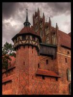 Malbork Castle by karstART
