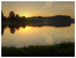 Zvirgzdu Lake by karstART