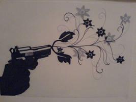 Flower Gun by 3lly-ch4n