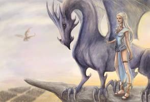 Daenerys by ThereseOfTheNorth