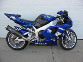 Stock Yamaha R1 Motorcycle by Daturaemo