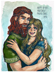 For mah Thor by LadyCat17