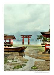Itsukushima Shinto Shrine IV by rikachu426