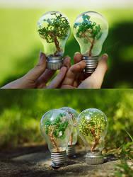 Mini trees by beads-poet