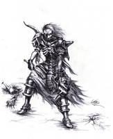 Necromancer's Presence by Jerrre