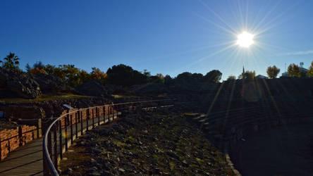 006 - Amphitheater in Merida by calasade