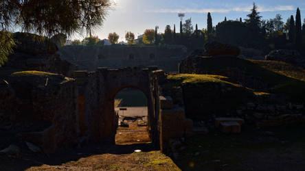 001 - Amphitheater in Merida by calasade