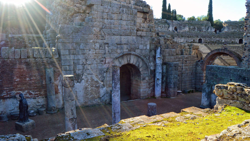 004 - Roman Theater Merida Spain by calasade