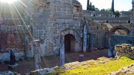 004 - Roman Theater Merida Spain by calasade