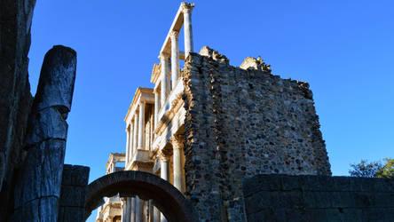 016 - Roman Theater Merida Spain by calasade