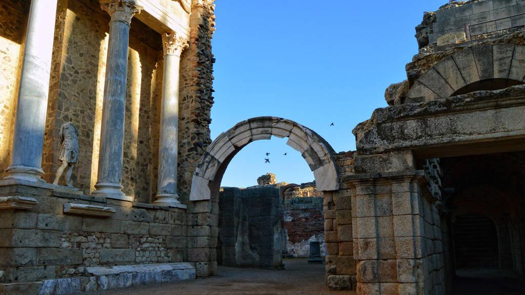 021 - Roman Theater Merida Spain by calasade