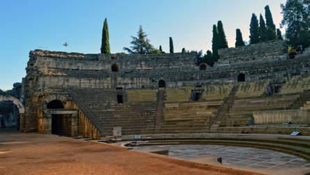 035 - Roman Theater Merida Spain by calasade