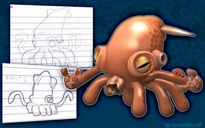 Spore - Squidius by danieljoelnewman