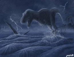 Thunder Rex by danieljoelnewman