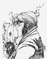 FallCon Gambit Sketch by Arciah