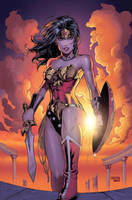 Wonder Woman colors by Arciah