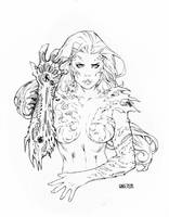 Witchblade NYCC 2015 by Arciah