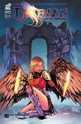 Dissension #3 cover colors by Arciah