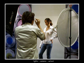 Lights ... Camera ... Action by rinaz