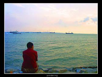 pondering by rinaz