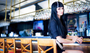 The Black-Haired Woman / Death Parade (1) by kazeplay