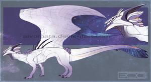 Auction #38 Galaxy dragon [closed] by Aivomata