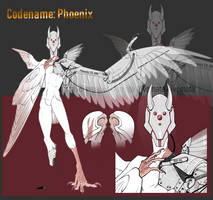 Haroth Auction: Code-name Phoenix [CLOSED] by Aivomata