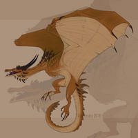 Bronze dragon by Aivomata