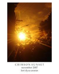 Crimson Sunset by lailomeiel