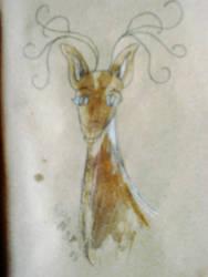Deer by lailomeiel