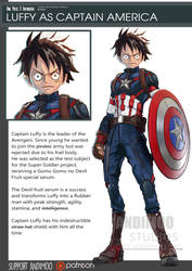 One Piece Avenger Captain Luffy 2016 by AndiMoo