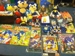 My Collection Of Classic Sonic Merchandise by ClassicSonicSatAm