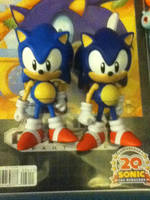 Classic Sonic  Figure by Jazware by ClassicSonicSatAm