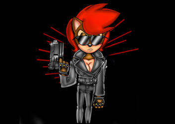 Terminator Sally Mecha by ClassicSonicSatAm