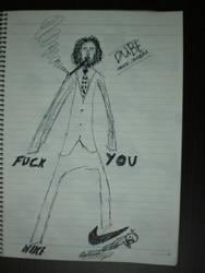 Smoking Jesus by Art4Sexy