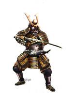 Samurai by Artigas