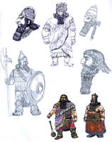 Dwarven Clans- Blacklocks by Artigas