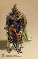 Turin Turambar and the Dragon Helm by Artigas