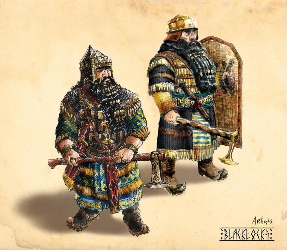 Blacklocks Clan Warriors by Artigas