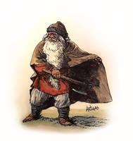 Old Dwarf by Artigas