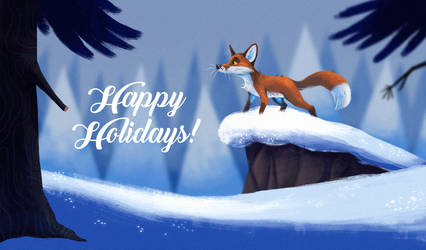 Happy Holidays by Zerda-Fox