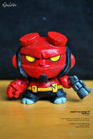Hellboy dunny by eggay