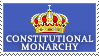 Constitutional Monarchy by 1stClassStamps