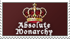 Absolute Monarchy by 1stClassStamps