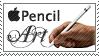 Apple Pencil Art by 1stClassStamps
