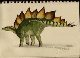 Stegosaur-sketchbook by commander-salamander