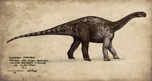 Isanosaurus by commander-salamander