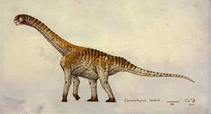 Camarasaurus lentus by commander-salamander