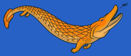 Tiktaalik by commander-salamander