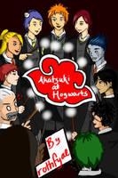 Akatsuki at Hogwarts Cover V.2 by rothfyae